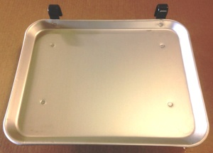 anodized aluminum car hop tray